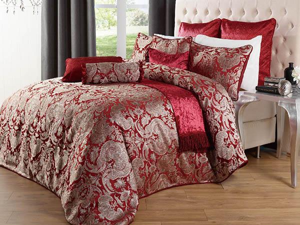 Jacquard Duvet Cover Quilts Bedspreads Comforters Bedsheet